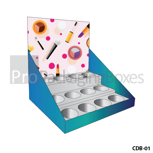 Customized Cosmetic Display Packaging Boxes=-1
