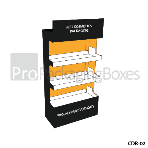 Personalized Cosmetic Display Packaging Boxes