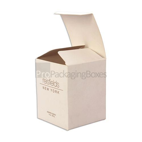 Custom Printed Candle Packaging Boxes