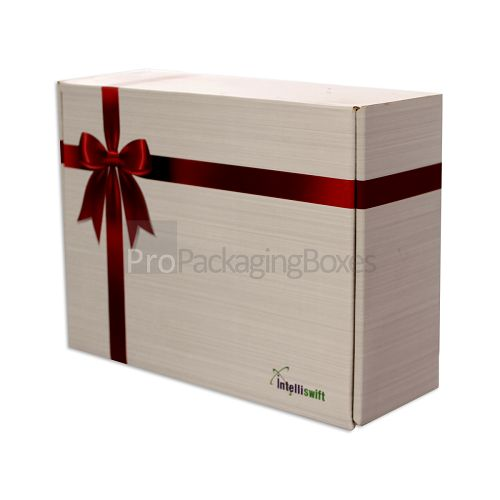 Personalized B Flute Corrugated Box Front view image