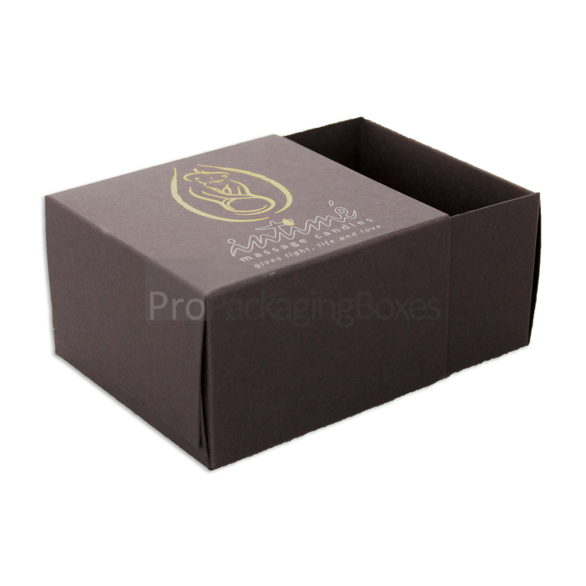 Custom Printed Candle Packaging 2 piece Boxes