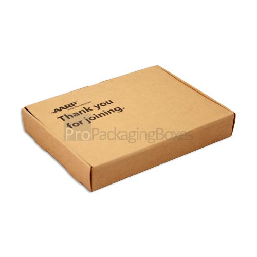 Tuck Top Double Wall Frame Box in Kraft Card Stock - Image