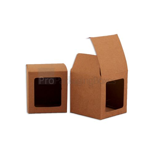 custom kraft boxes with window