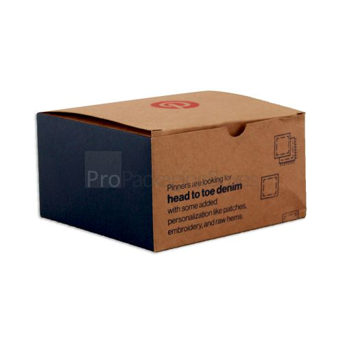 custom brown kraft boxes wholesale