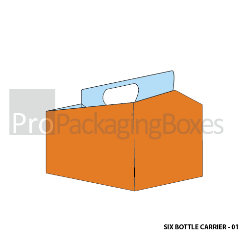 6 Pack Bottle Carrier Boxes