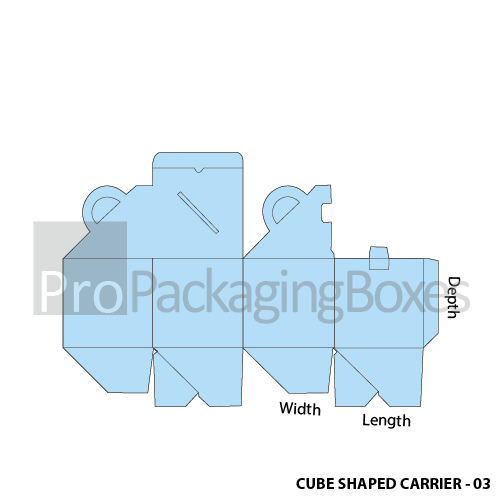 Cubed Shaped Carrier-Template view