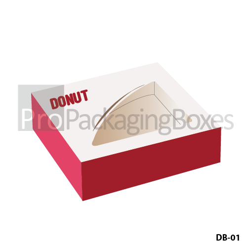 Customized Donut Packaging Boxes