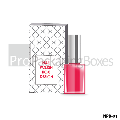 Custom Printed Nail Polish Packaging Boxes Suppliers
