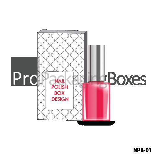 Custom Printed Nail Polish Packaging Boxes Suppliers