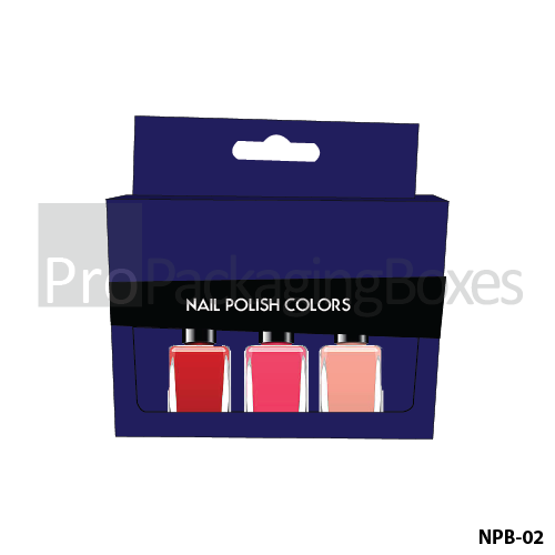 Customized Packaging solution Provider for Nail Polish Packaging