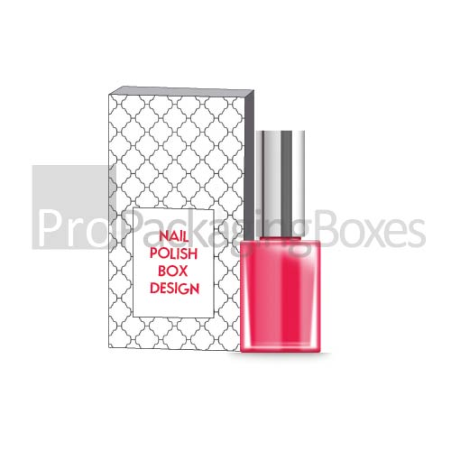 Custom Printed Nail Polish Packaging Boxes