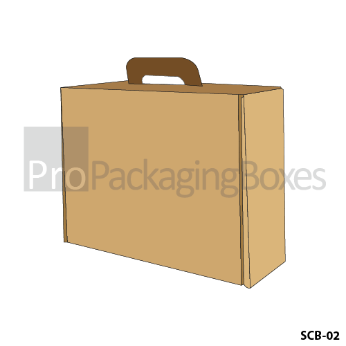 Personalized Printed Suitcase shaped Packaging Boxes