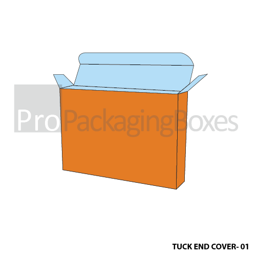 Custom Tuck End Cover Boxes