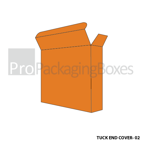 Custom Tuck End Cover Boxes Side View
