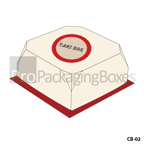 Personalized Cake Boxes Suppliers