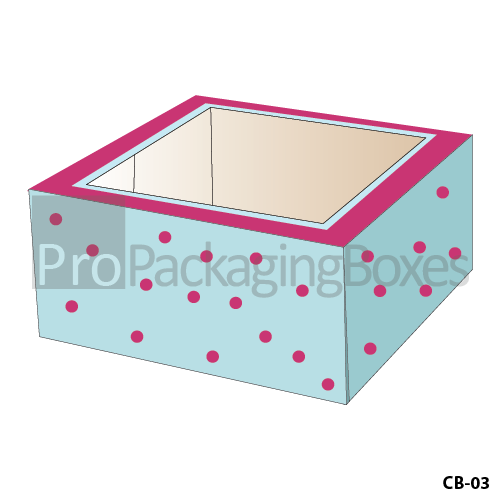 Custom cake Packaging Boxes Suppliers