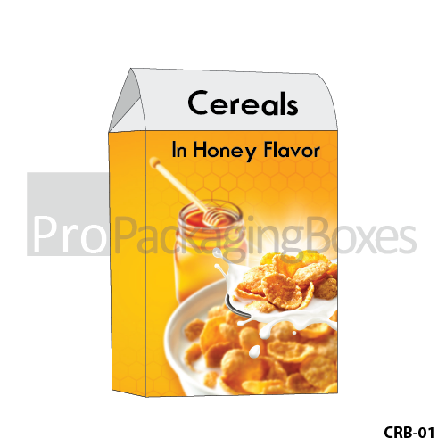 Personalized Cereals Packaging Boxes