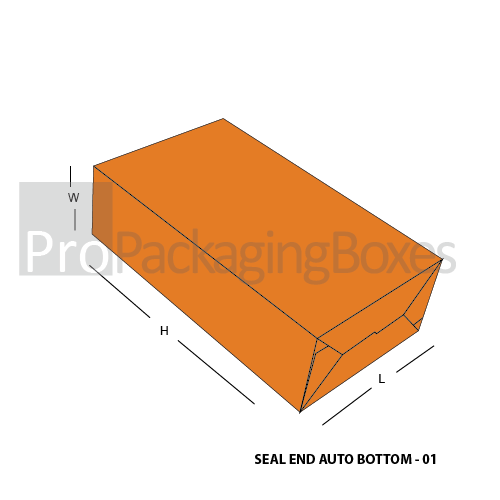 Customized Seal End Auto Bottom Boxes