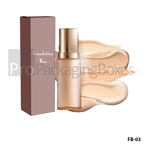 Personalized Packaging Boxes Suppliers for Makeup Foundation