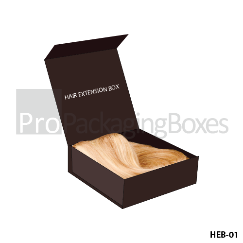 Customized Packaging Boxes for Hair Extension Packaging