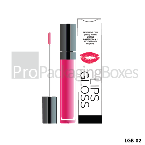 Bespoke Lip Gloss Packaging