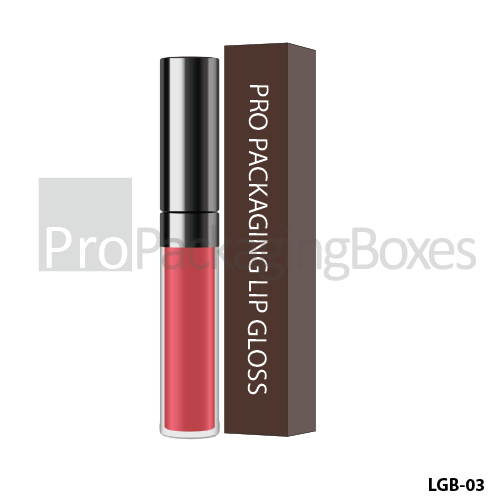 Custom Printed Lip Gloss Packaging