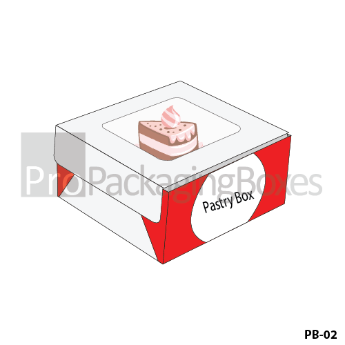 Personalized Packaging Boxes for Pastry and Cakes