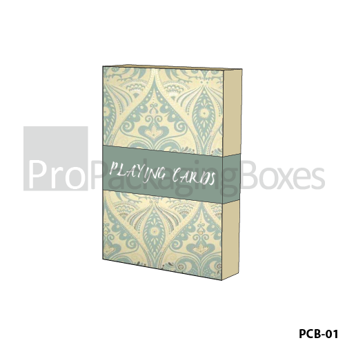 Personalized Packaging Boxes for Playing Cards