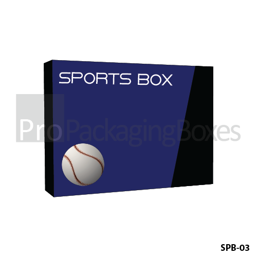 Custom Printed Sports Product Packaging Boxes