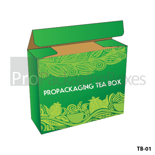 Personalized Printed Tea Packaging Boxes