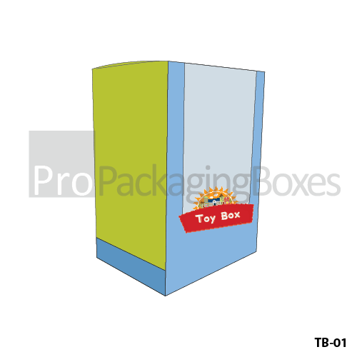Custom Printed Toy Packaging Boxes USA