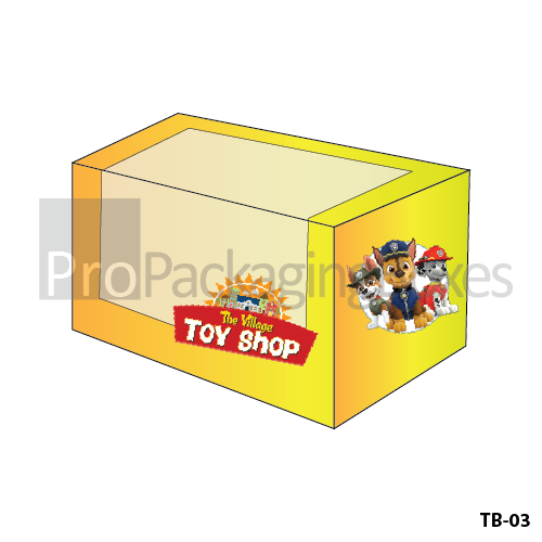 Fully Personalized Toy Packaging Boxes
