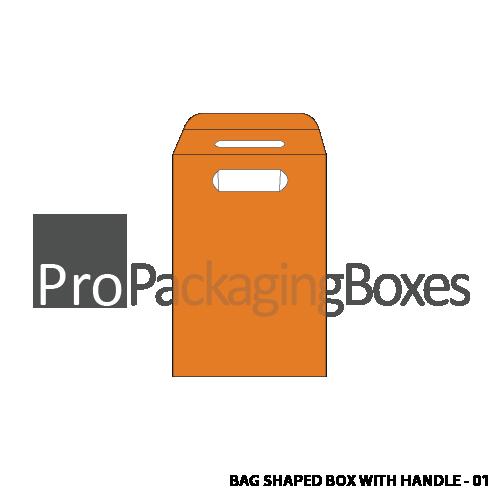 Bag Shaped Box with Auto Lock Bottom