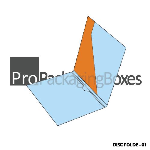 Custom Printed Disc Folders Packaging Suppliers in USA