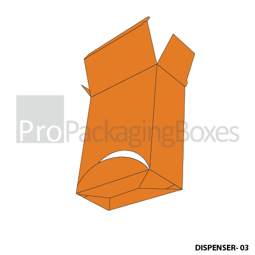 Personalized Dispenser Boxes - Front View