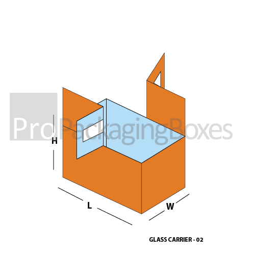 Custom Printed Glass Carrier Packaging Suppliers