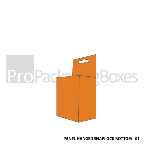Customized Panel Hanger with Snap Lock Bottom Boxes