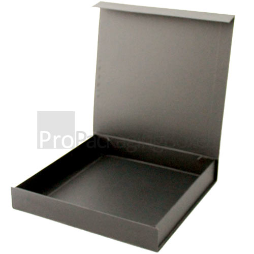 Luxury Folding Box with Magnetic Flaps Open View Image