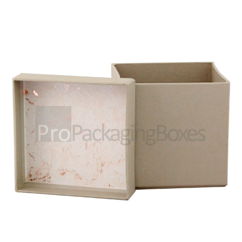 Two Piece Rigid Box Open View Image