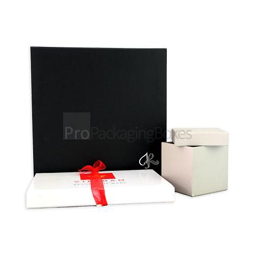 Customized Luxury Rigid Stock Packaging Boxes